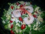 Shrimp Caesar Salad #FITFOOD