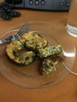 Spinach & Onion Egg Muffins