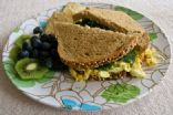 Grown Up Egg Salad Sandwich