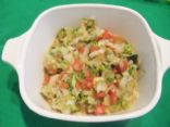 Tomato, Onion & Cilantro Salad