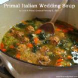 Primal Italian Wedding Soup