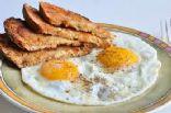 Easy Breakfasts-Scrambled Eggs & Toast (287 cal)