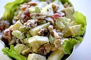 Lite Waldorf Salad