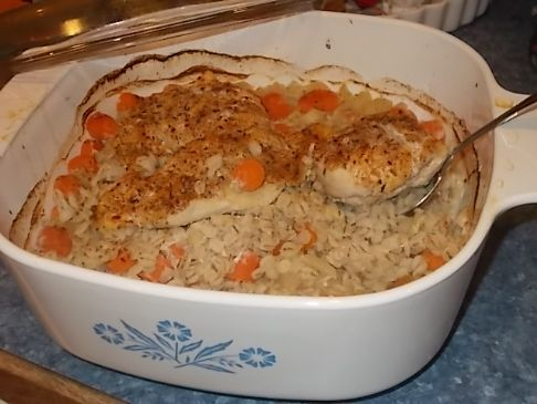 Chicken and Barley Bake