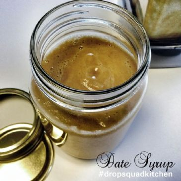 vegan raw date syrup