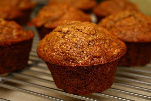 Yummy Low-Cal Banana Nut Muffins