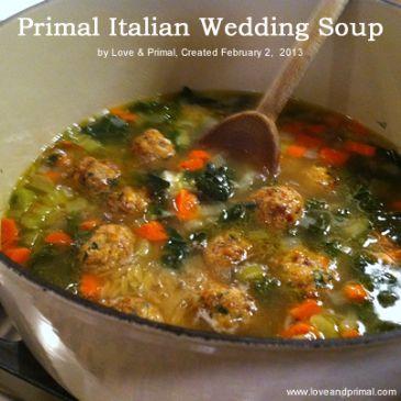 Primal Italian Wedding Soup Recipe