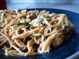Thai Peanut Noodle Bowl