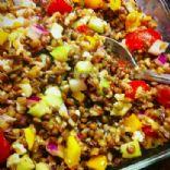 Lentil & Rice Salad