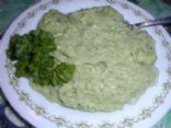 Kelp Noodles in Spinach Sauce