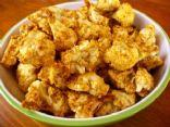 Raw Cauliflower Popcorn