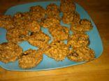 Oatmeal Banana Applesauce Cookies