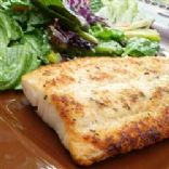 Broiled Parmesan Talapia
