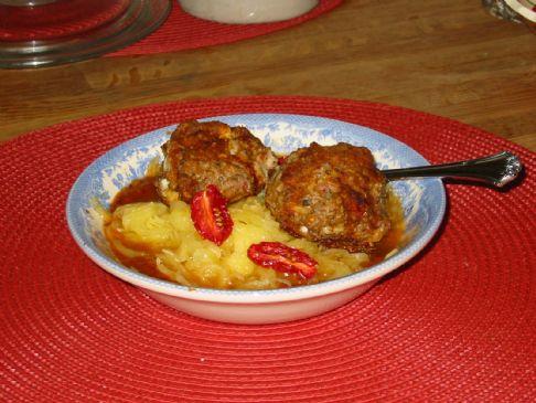 Gluten Free Chicken Meatballs