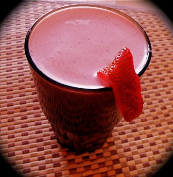 Berry Banana Protein Smoothie