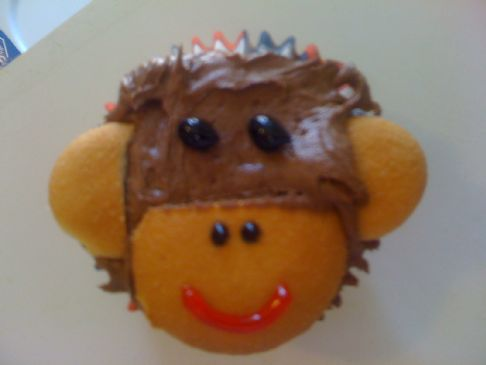 Diet Soda & Shaekology Monkey Cupcakes