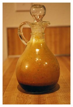 Japanese ginger dressing