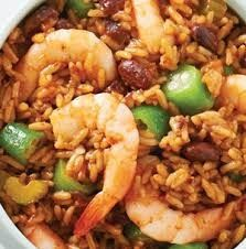 Cajun Shrimp and Rice with Okra