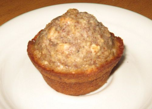 Chocolatey Oatmeal Flax Muffins