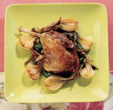 duck �confit� with spiced honey (anatra �confit� al miele speziato)