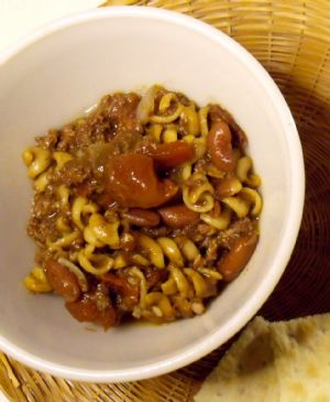 USDA Can Beef Chili Mac