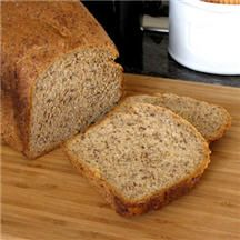 Flax Bread (Bread Machine)