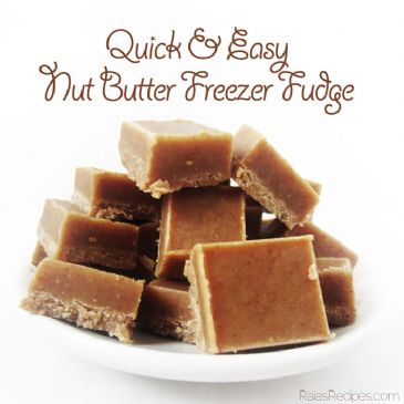 Nut Butter Freezer Fudge