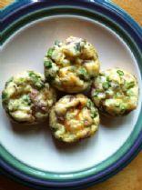 Asparagus, Prosciutto & Balsamic Onion mini Frittatas