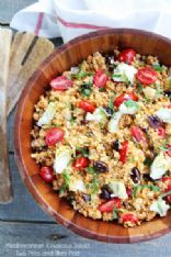 Chilled Mediterranean Couscous Salad