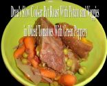 Drea's Slow Cooker Pot Roast With Veg & Potatoe