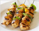 Mini Kebabs with Creamy Chilli Dip
