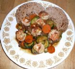 Shrimp & Vegetables in Oyster sauce