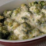Creamy Parmesan Broccoli Bake