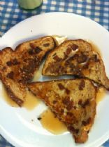 Maple-Bacon French Toast (vegetarian)