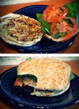 Decadent Veggie Burger