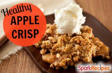 Lightened Up Apple Crisp Recipe Sparkrecipes