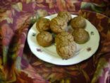 low fat pumkin muffins