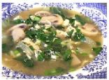 Low Carb Chicken & Bok Choy Soup