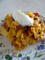 Slow Cooker Taco Casserole