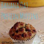 Gluten Free Banana Protein Muffins/Bars