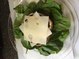 Quick & Easy portobello mushroom cap and egg: