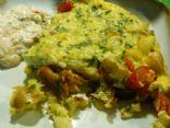Frittata with cauliflower