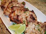Chuletas De Puerco (Grilled Cuban Style Pork Chops)