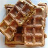 Protein Banana Nut Waffles