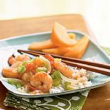 Stir-Fried Shrimp with Ginger
