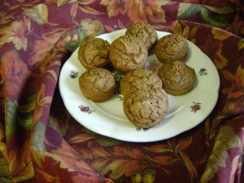 low fat pumkin muffins