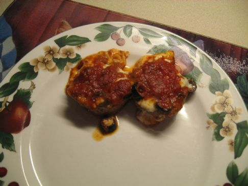 Italian Stuffed Meatballs