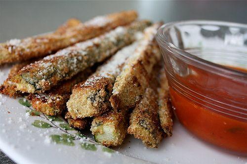 Primal Baked Parmesan Zucchini Sticks