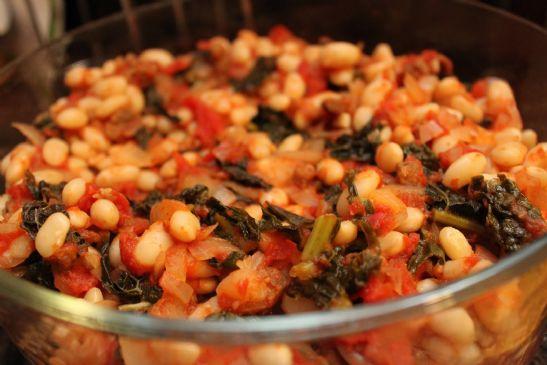 Kale and White Bean Stew