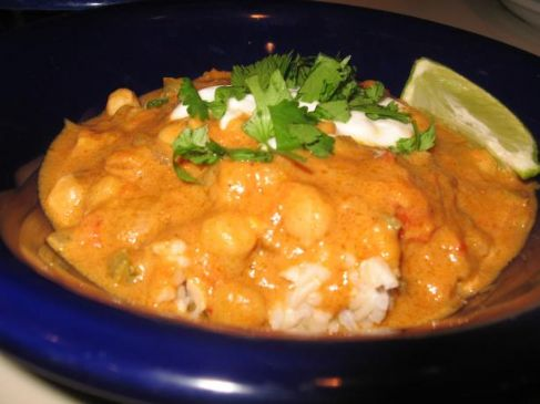 Vegetarian Peanut Curry (African Inspired)